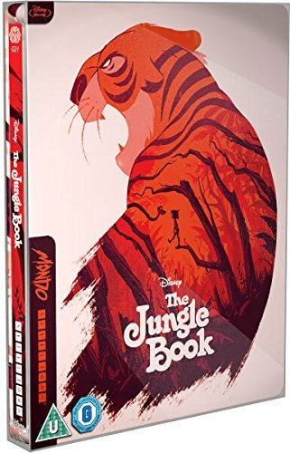 The Jungle Book Mondo Steelbook Exclusive Limited Edition