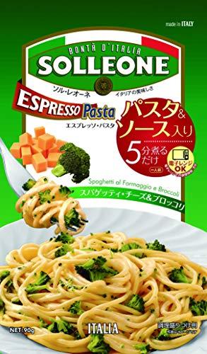 日欧商事 エスプレッソパスタ・スパゲッティ・チーズ&ブロッコリ 90g