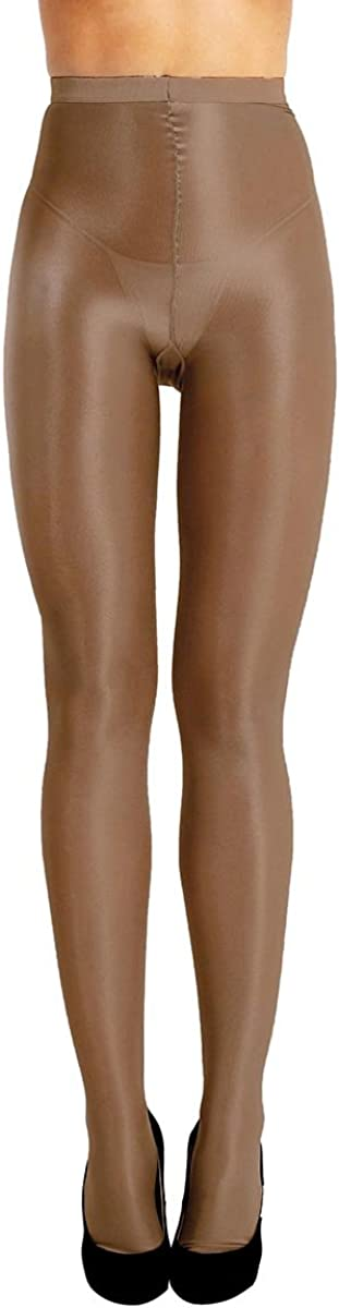 Aislor Women's 70D Shiny Shimmery Stockings Stretch Thickness Glossy Footed Silk Pantyhose