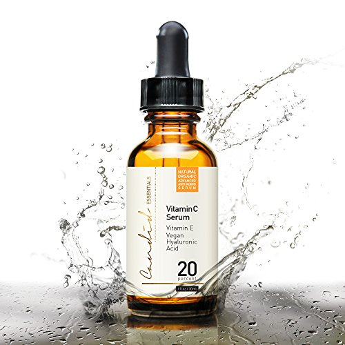 Best Vitamin C Serum for Face & Eyes, Organic & Natural, with Vitamin E, Hyaluronic & Ferulic Acid, Anti-Aging Products for Radiant Skin, 20% Serum Effectively Reduces Skin Discoloration & Wrinkles!