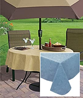 Best vinyl tablecloth with umbrella hole Reviews