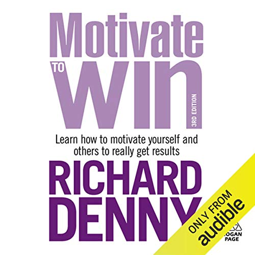 Motivate to Win audiobook cover art