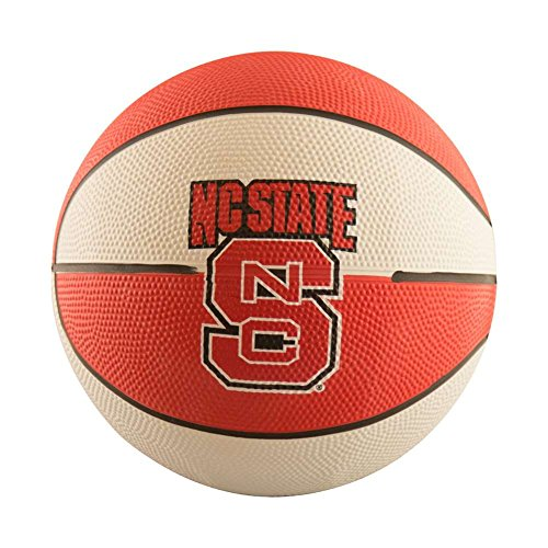 For Sale! Logo Brands NCAA North Carolina State Wolfpack Unisex Mini-Size Rubber Basketball, Brown