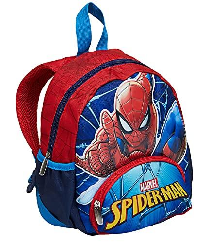 costume mare uomo e bambino Zaino asilo Scuola Small - Spider-Man Wall Crawler
