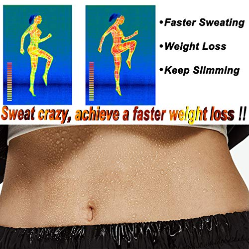 Joyshaper Waist Trainer Corset Neoprene Sauna Waist Cincher Women Sweat Vest Weight Loss Slimming Body Shaper Tank Top (Grey - Zipper, S)