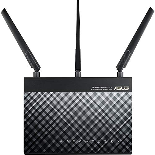 ASUS RT-AC1900 Dual Band WiFi Router (Renewed)