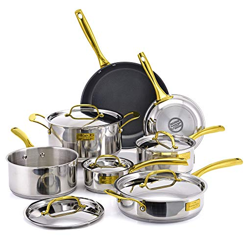 Fleischer & Wolf Nonstick(Fry)Cookware Set 12pcs...