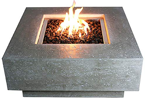 Manhattan Natural Gas Outdoor Fire Pit by Elementi