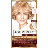 L'Oreal Paris ExcellenceAge Perfect Layered Tone Flattering Color, 8G Medium Soft Golden Blonde (Packaging May Vary)