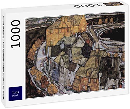 Lais Puzzle Egon Schiele - L'Arco delle Case o Island City 1000 Pezzi