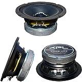 1 MIDRANGE XPL XW06-403 XW06 403 Altavoz Mid Bass 16,50 cm 165 mm 6,5' 100 vatios rms 200 vatios máx 4 ohmios 97 db spl Negro Coche, 1 Pieza