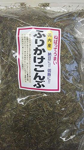 国産昆布 使用 ふりかけ昆布 1kg 粘ってうまい 納豆やご飯に