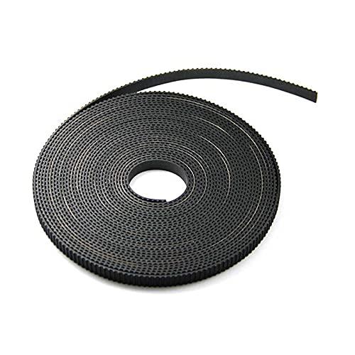 5pcs / lot 1,7 m 6mm larghezza GT2. Cintura di timing rinforzata in fibra di cinghia dentata for reprap prusa i3 A8 A6 3D. Stampante