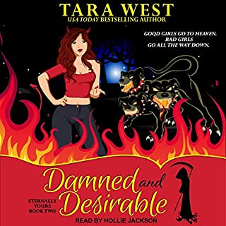 Damned and Desirable audiobook cover art