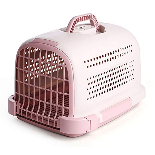 Rigid Pet Station Wagon, Portable Dog Cage, Easy to Assemble, Ventilated on All Sides, with Comfortable Handles, Large Space