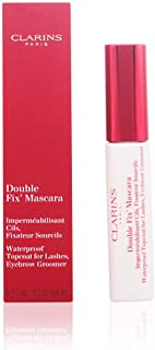 Clarins Double Fix Mascara Waterproof Topcoat for Lashes, Eyebrow Groomer, 0.2 Ounce