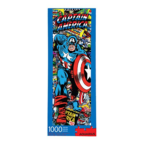 AQUARIUS Marvel Puzzle Cast (1000 Piece Jigsaw Puzzle) - Officially Licensed Marvel Merchandise & Collectibles - Glare Free - Precision Fit - Virtually No Puzzle Dust - 12 x 36 Inches