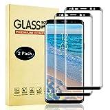 Vidrio Templado para Samsung Galaxy S8 Plus Protector de Pantalla, 2 Unidades Cobertura Toda Cristal Templado para Samsung S8 Plus, Alta Definicion, Libre de Burbujas, Anti-Aceite