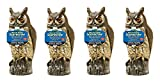 Dalen 016069000301 OW6 Gardeneer by Natural Enemy Scarecrow Horned Owl (Pack of 4)