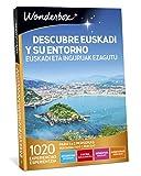 WONDERBOX Caja Regalo -DESCUBRE EUSKADI Y SU Entorno- 1.020 experiencias para Dos Personas