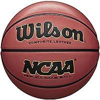 Wilson basketbal, alle oppervlakken, voor spelers vanaf 12 jaar, NCAA Replica Street Game, rubber, bruin, WTB0730