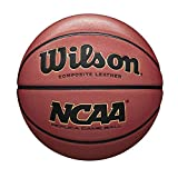 Wilson, Ballon de Basketball, NCAA Replica Comp, Orange, Taille : 7, Similicuir,...