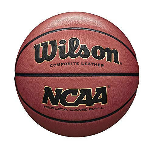 Review Wilson NCAA Replica Game Basketball, Official - 29.5