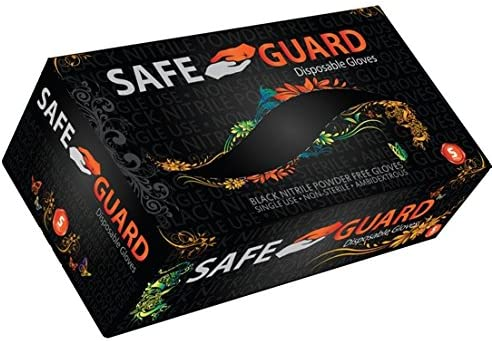 Ranking TOP16 Safeguard Nitrile Disposable Gloves Free B Powder Latex Daily bargain sale