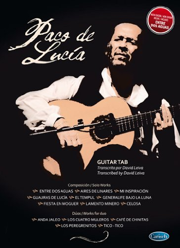 Paco De Lucia: Guitar Tab. Für Gitarre, Gitarrentabulatur, Gesang
