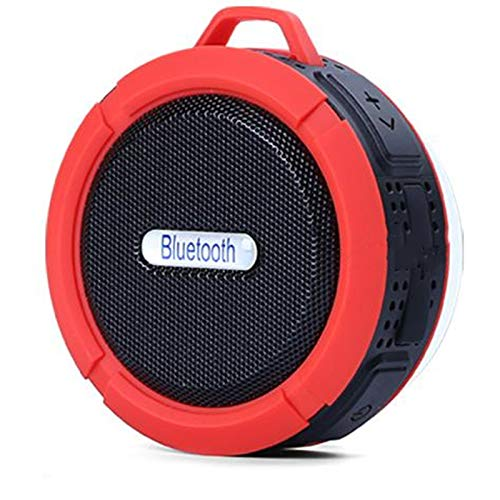 ZNMJW - Altavoz inalámbrico Bluetooth 4.0 altavoz subwoofer impermeable con ventosa mini tarjeta de sonido pequeño