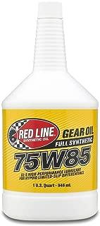 Red Line 50104 75W85 GL-5 Gear Oil, 1 Quart, 1 Pack