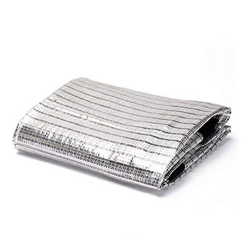 Terrasluifel aluminiumfolie schaduwnet, luifels, zonnetetting, zonbeschermingsrooster, overkappingen, tentdoek zeil, geschikt voor uv-bestendige bescherming privacy, meerdere maten camouflag 6 * 9M