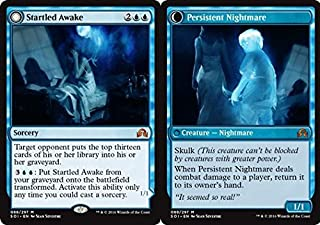 Magic: the Gathering - Startled Awake // Persistent Nightmare (080/297) - Shadows Over Innistrad