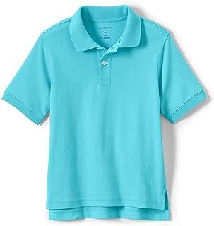 School Uniform Kids Short Sleeve Interlock Polo Shirt