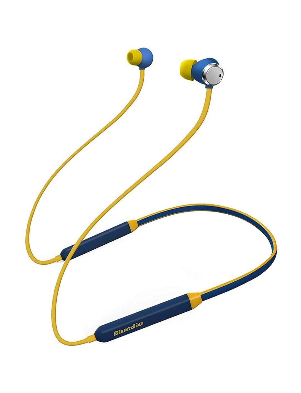 寄託ナット勇気のあるBluedio TN (Turbine) Bluetooth イヤホン 高音質 ノイズキャンセリング 低音重視 人間工学設計 マグネット搭載 ハンズフリー通話 ブルートゥース イヤホン [メーカー1年保証](ブルー)