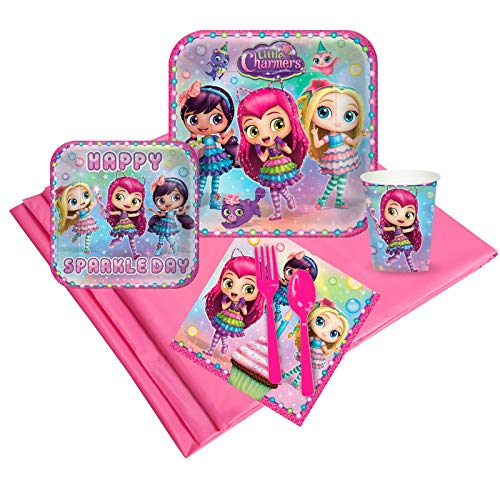Fantastic Prices! BirthdayExpress Little Charmers Genie Girls Childrens Party Supplies Pack - 24 Gue...