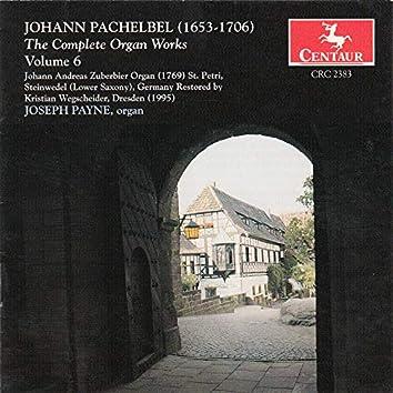 Pachelbel, J.: Organ Music (Complete), Vol. 6