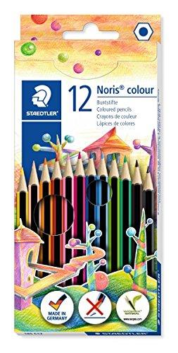STAEDTLER 185 C12 - Lápices, 12 unidades, Multicolor