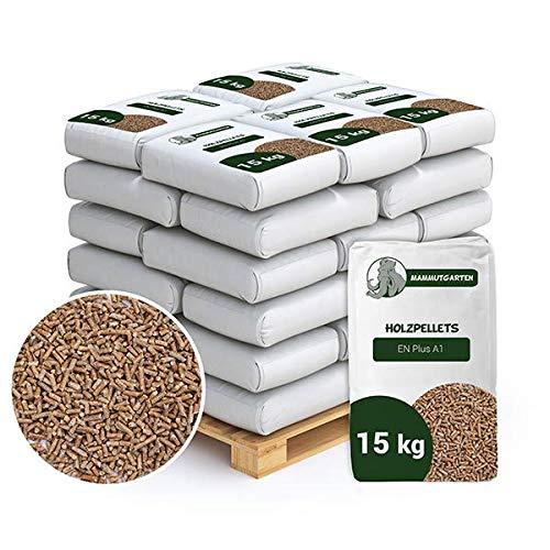 Holzpellets Kiefer Pellets Holz EN Plus A1 6mm 65 x 15kg (975 KG)