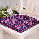 Cojín de silla de comedor, cojín de silla de esponja para interiores, oficina en casa, cómodos cojines de asiento Tatami