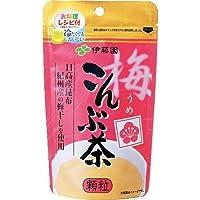 伊藤園 梅こんぶ茶 55g ×6セット