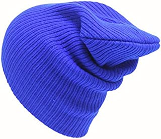 VEFSU Unisex Beanie Solid Color Knit Ski Caps Hip-Hop Artificial Wool Hat
