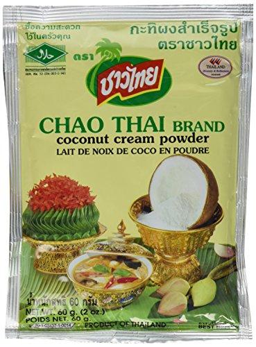 Coconut Milk Cream Powder Chao Thai Size 60 G(2.0 Oz) X 5 Bags