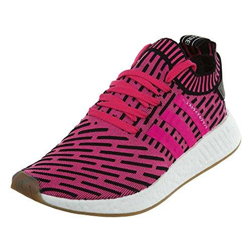 adidas Originals NMD_r2 Prime Knit Zapatillas de Running para Hombre, Color Rosa, Talla 40 2/3 EU