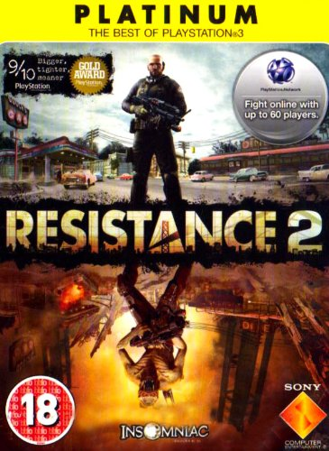 Sony Resistance 2 - Juego (PlayStation 3, Tirador, Insomniac Games)