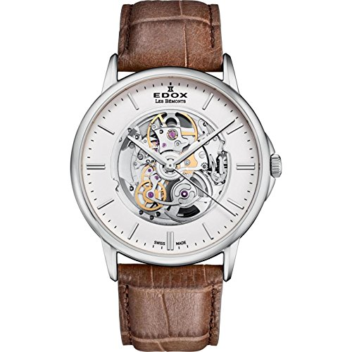 Edox Men's Les Bemonts Stainless...