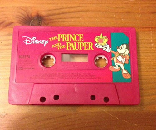 Prince and the Pauper (Disney/Book and Cassette) 1557231524 Book Cover