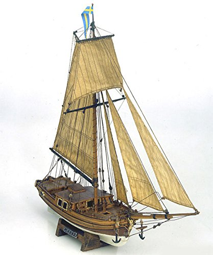 Mamoli - Modello Kit Barca Da Collezionismo Gretel Scala 1:54 L.410Mm,H355Mm