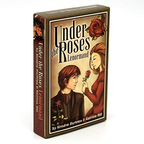 cici Light Seer's Tarot 78 Kartenspiel Kartenkarton Wahrsagerei Reading Love Moon Near Beginners Erotisches Tarotheidnischer Katzen unter Rosen