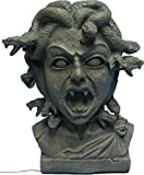 Morris Costumes Medusa bust 11 inch animated